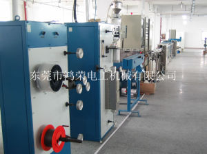 Optical Fiber Cable Machine for Extruding Tight Buffer Fiber pictures & photos