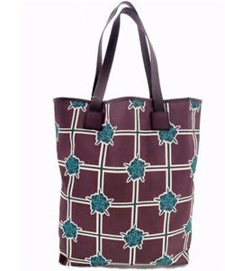 Vertical Tote Purse Handbag Bag in Cotton Fabric (BS16017) pictures & photos