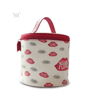 Ladies Custom Printing PVC Leather Cosmetic Makeup Bag pictures & photos