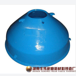 Mesto High Quality High Manganese Steel Casting Cone Crusher Parts
