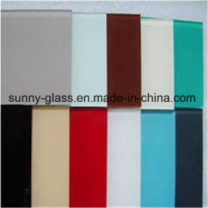 4mm 5mm 6mm Red Decorate Painted/Lacquered Glass pictures & photos
