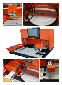 SMT Desktop Small Manual Mounting Machine Tp39V pictures & photos