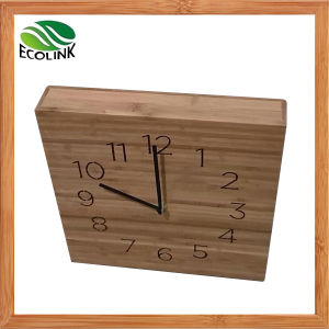 Bamboo Modern Numeric Unique Retro Wall Clock pictures & photos