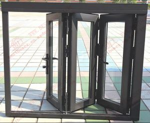 Powder Coating Aluminium Bi-Folding Window (BHA-FW10) pictures & photos