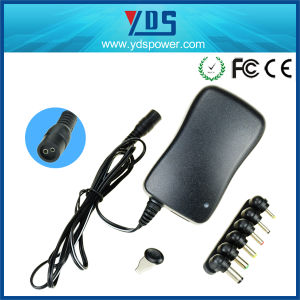 Wall Mount Universal AC DC Power Supply 30W Adapter pictures & photos