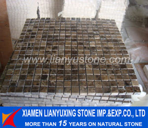 Brown Marble Mosaic Pattern for Building Project