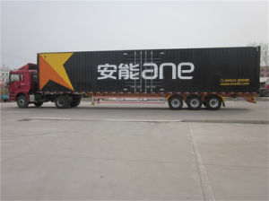 3 Axles Van Type Box Semi-Trailer pictures & photos