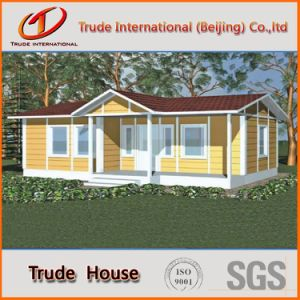 Light Steel Structure Prefabricated/Prefab/Modular Color Steel Sandwich Panels/Foam Cement Living House pictures & photos