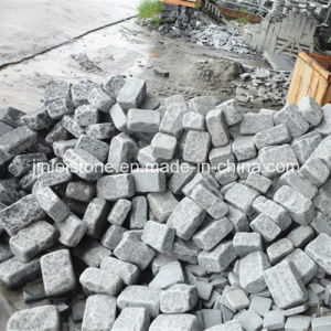 G654 Dark Grey Granite Tumbled Paving Stone for Garden pictures & photos