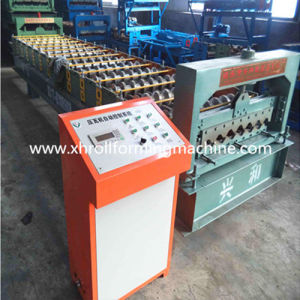 Steel Tile Wall Panel Roll Forming Machine (XH750)