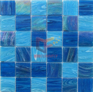 Iridescent Crystal Swimming Pool Mosaic Tiles. Glass Mosaic (CSJ102) pictures & photos