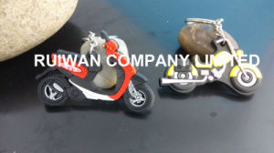 Motor Shape 3D PVC Keychain for Motorcycle Souvenirs pictures & photos