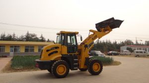 2ton Big 4-Wheel Drive Hydraulic Front End Chinese Used Wheel Loader with CE for Sale pictures & photos