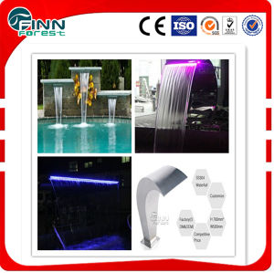 Stainless Steel Swimming Pool LED Light Pool Waterfall pictures & photos
