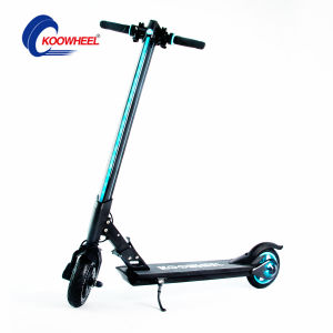 Manual Operating Smart Elecric Scooter with Headlamps and Tail Lamp pictures & photos