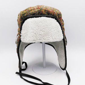 High Quality Winter Outdoor Lei Feng Bomber Trapper Hat with Ear Flaps pictures & photos