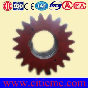 Factory Pinion Gear Forging Steel for Cement Ball Mill Parts pictures & photos
