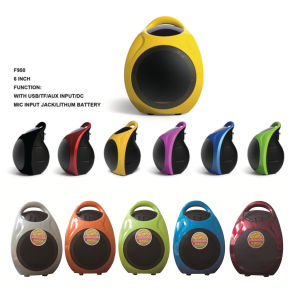 6.5 Inch Mini Portable Battery Speaker with Bt, Mic F905 pictures & photos