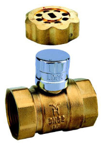 Brass Magnetic Lock Ball Valve