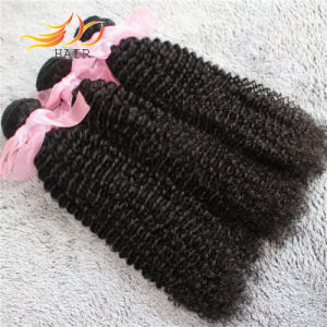 8A Indian Virgin Hair Kinky Curl No Tangle No Shedding Hair Extension pictures & photos