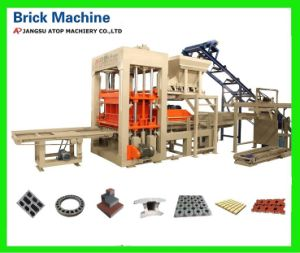 Full Automatic Concrete Cement Brick Making Machine pictures & photos