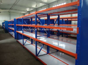 High Quality Adjustable Boltless Rivet Longspan Shelving for Warehouse pictures & photos