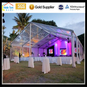 Big Nigeria Africa Movable Aluminum Luxury Permanent Outdoor Large PVC Wedding Tent for Event pictures & photos