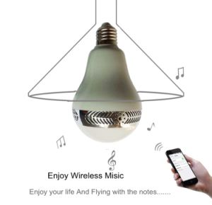 Newest Fashionable LED Music Bulb with Bluetooth Speaker Connected