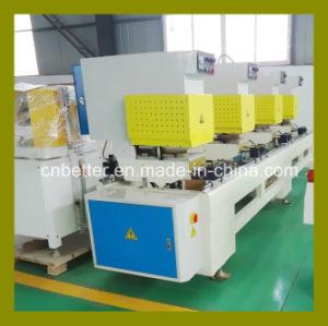 Window Machine Four Head Window Door Seamless Welding Machine, Plastic PVC UPVC Window Door Production Line