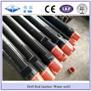Xitan API Screw Anchor Drill Rod Water Well Drill Rod Frition Weld Drill Pipe pictures & photos