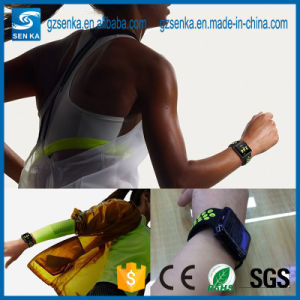 New Premium Sport Luminous Silicone Watch Band for Iwatch 42mm pictures & photos