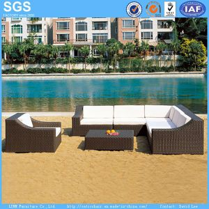 Outdoor Garden Furniture Synthetic Wicker Sofa pictures & photos