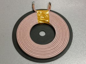 Dia 20.5mm Coil / Tx-Coil with Ferrite /Tx-Coil for Wireless Charger pictures & photos