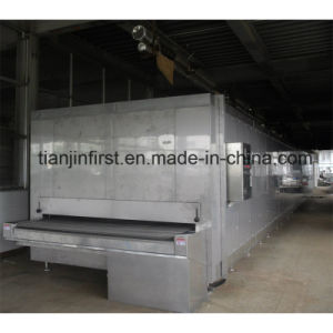 Tunnel Type Quick Freezer for Fish Shrimp Dumplings Fish Fillet pictures & photos