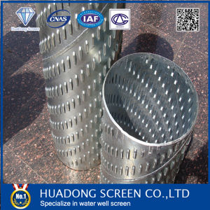 Galvanzied Bridge Slotted Screen for Water Well Drilling / Water Well Bridge Slotted Pipe pictures & photos