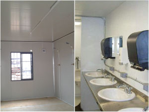Prefabricated Sandwich Panel Shower Room and Public Toilet pictures & photos