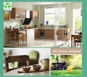 China Factory Supply Modern Modular Chipboard Kitchen Cabinet pictures & photos