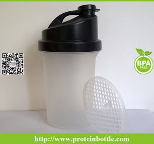 400ml Protein Bottle with Plastic Blender pictures & photos