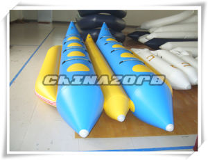 Top Quality PVC Inflatable Banana Boat Water Play Equipment