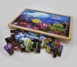 Sea World Printing Wood Puzzles pictures & photos