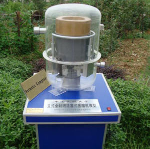 Hermetic Compressor, 3D Model Industrial, Demonstrational Model