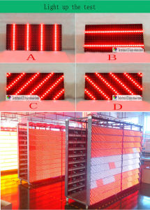 P10 32X16 Matrix Programmable Red Outdoor LED Display Module Panel Shop Sign pictures & photos