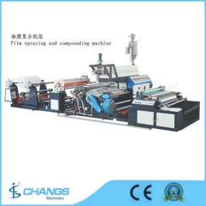 Sjdlm-800 Film Spraying and Compounding Machine pictures & photos