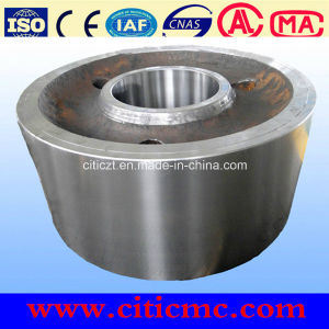 50-500tpd Casting Steel Support Roller for Large Rotary Kiln pictures & photos