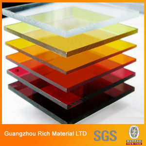 Translucent Color Plastic Cast Acrylic Sheet/Perspex Sheet/Acrylic PMMA Sheet pictures & photos