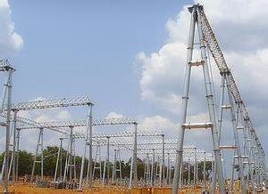 35kv Power Plant Steel Substation Structure pictures & photos