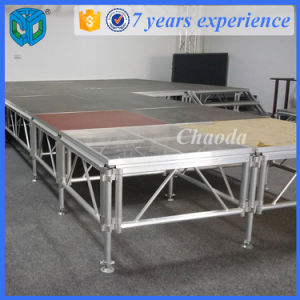 Cheap Price Outdoor Event Aluminum Wooden Platform Stage