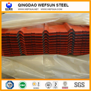 Red Corrugated Roofing Sheet in Hot Sale pictures & photos