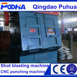 CE Quality Rubber Belt Tumble Shot Blasting Machine for Sale pictures & photos