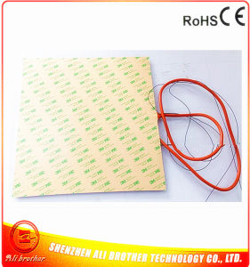 Flexible Silicone Heater for Stainless Plate 340*340*1.5mm pictures & photos